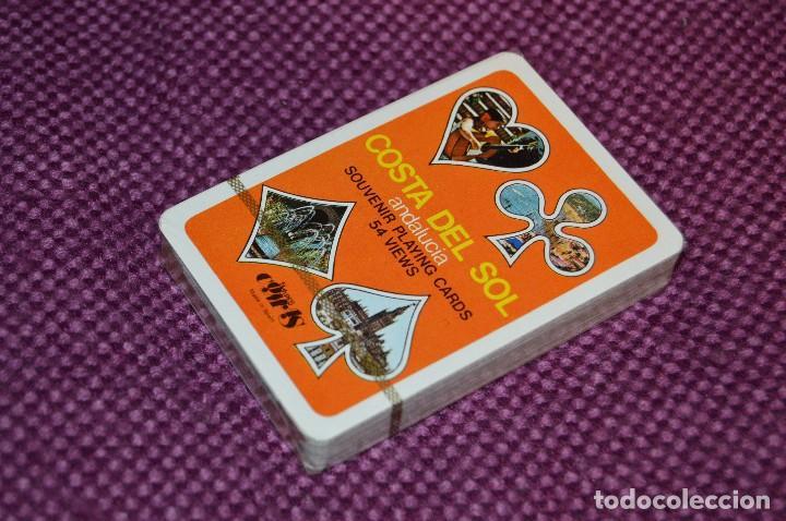 Barajas de cartas: VINTAGE - BARAJA DE POKER COSTA DEL SOL - PRECINTADA - SOUVENIR - ANDALUCIA - NAIPES COMAS - AÑOS 70 - Foto 2 - 107044491