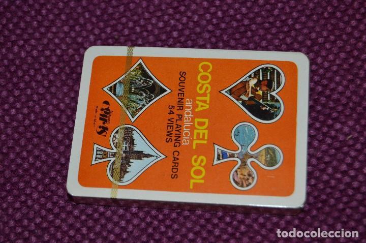 Barajas de cartas: VINTAGE - BARAJA DE POKER COSTA DEL SOL - PRECINTADA - SOUVENIR - ANDALUCIA - NAIPES COMAS - AÑOS 70 - Foto 4 - 107044491