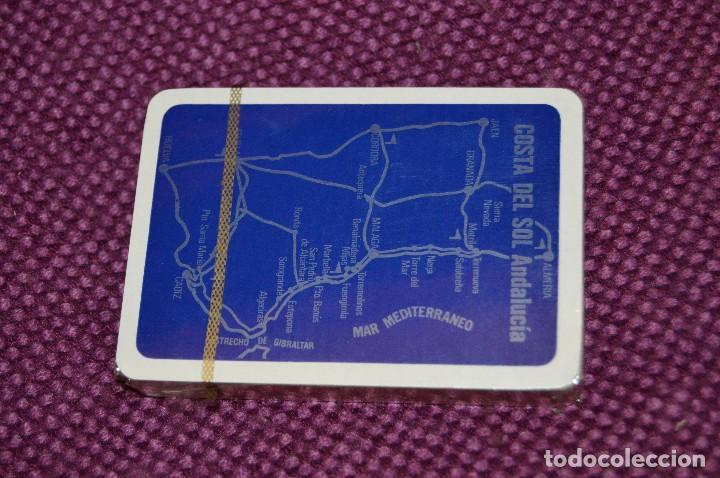 Barajas de cartas: VINTAGE - BARAJA DE POKER COSTA DEL SOL - PRECINTADA - SOUVENIR - ANDALUCIA - NAIPES COMAS - AÑOS 70 - Foto 5 - 107044491