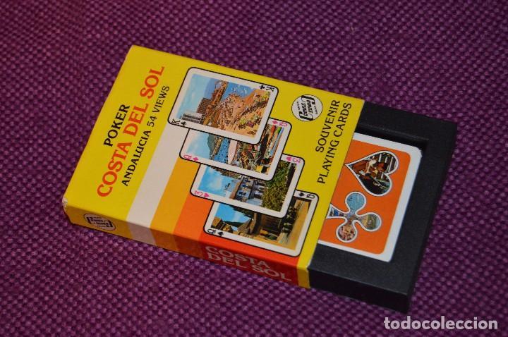 Barajas de cartas: VINTAGE - BARAJA DE POKER COSTA DEL SOL - PRECINTADA - SOUVENIR - ANDALUCIA - NAIPES COMAS - AÑOS 70 - Foto 9 - 107044491