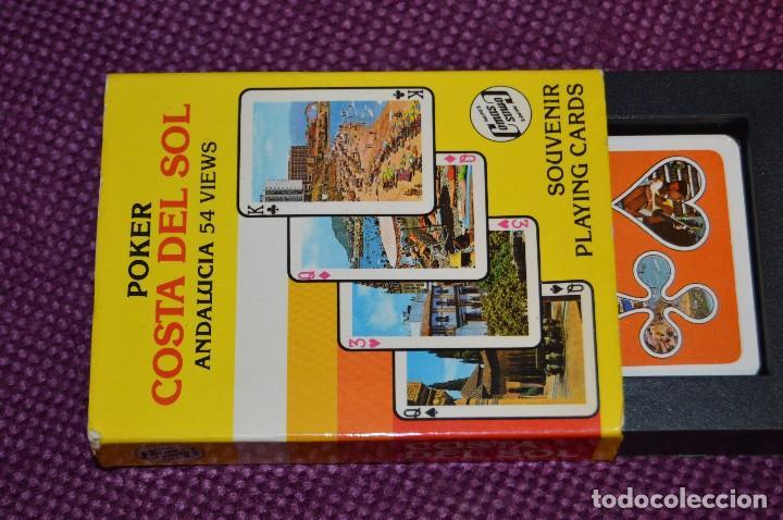Barajas de cartas: VINTAGE - BARAJA DE POKER COSTA DEL SOL - PRECINTADA - SOUVENIR - ANDALUCIA - NAIPES COMAS - AÑOS 70 - Foto 10 - 107044491