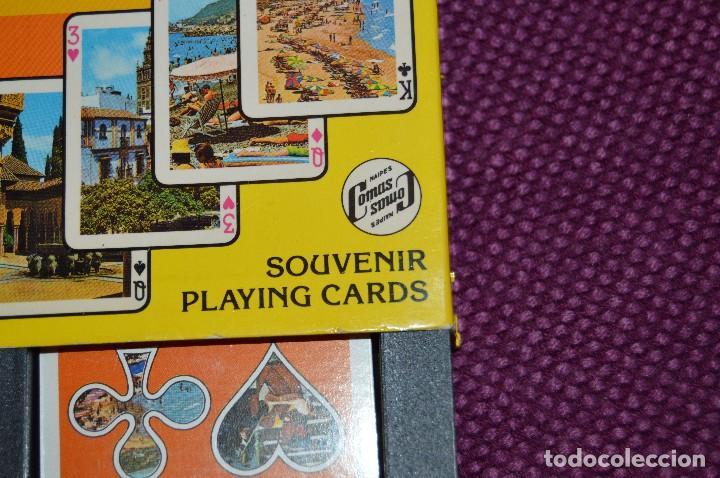 Barajas de cartas: VINTAGE - BARAJA DE POKER COSTA DEL SOL - PRECINTADA - SOUVENIR - ANDALUCIA - NAIPES COMAS - AÑOS 70 - Foto 11 - 107044491