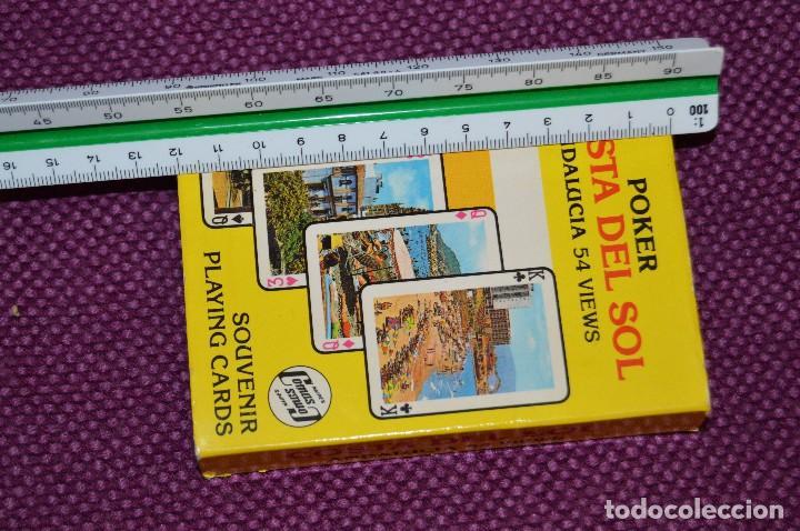 Barajas de cartas: VINTAGE - BARAJA DE POKER COSTA DEL SOL - PRECINTADA - SOUVENIR - ANDALUCIA - NAIPES COMAS - AÑOS 70 - Foto 13 - 107044491