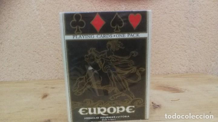 BARAJA FOURNIER CARTAS EUROPE NUEVA PRECINTADA (Juguetes y Juegos - Cartas y Naipes - Baraja Española)