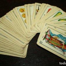 Barajas de cartas: ANTIGUA BARAJA ESPAÑOLA HERACLIO FOURNIER DE 1962 - COMPLETA. Lote 107176159