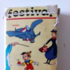 Barajas de cartas: BARAJA CARTAS COMPLETA FESTIVAL. Lote 107306455