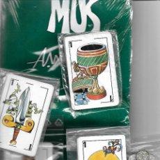 Barajas de cartas: BARAJA DE CARTAS DE MUS ABC ILUSTRACIONES MINGOTE 40 CARTAS TAPETE Y AMARRACOS NUEVA PERFECTA. Lote 107310547