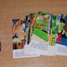 Barajas de cartas: BARAJA NAIPES DANIEL EL TRAVIESO - COMPLETA - FOURNIER 1997. Lote 107340655