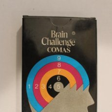 Barajas de cartas: BARAJA INFANTIL BRAIN CHALLENGE - NAIPES COMAS. Lote 107613423