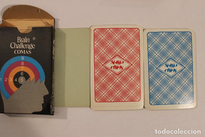 Barajas de cartas: Baraja infantil BRAIN CHALLENGE - Naipes Comas - Foto 2 - 222692357