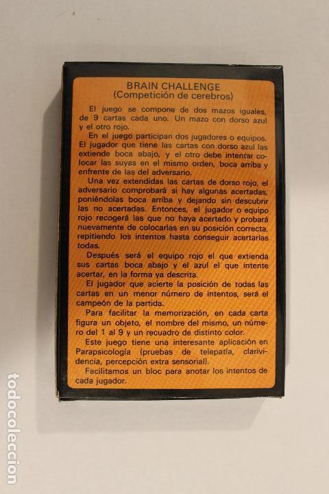 Barajas de cartas: Baraja infantil BRAIN CHALLENGE - Naipes Comas - Foto 4 - 222692357