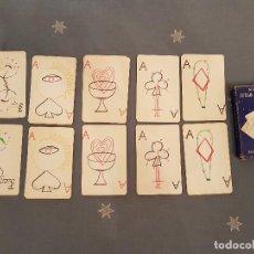 Barajas de cartas: BARAJA,JUEGO DE CARTAS,NAIPES COLECCION-JUSEP TORRES CAMPALANS (MAX AUB) 1964 VER DETALLES.. Lote 107695543