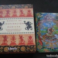 Barajas de cartas: TAROT BARAJA DE INSPIRACION BUDISTA. Lote 107793687