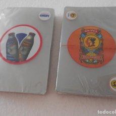 Barajas de cartas: CHUFÍ. HORCHATA DE CHUFA DE VALENCIA. LOTE DE 2 BARAJAS DE CARTAS PLASTIFICADAS NUEVAS A ESTRENAR. B. Lote 107825259