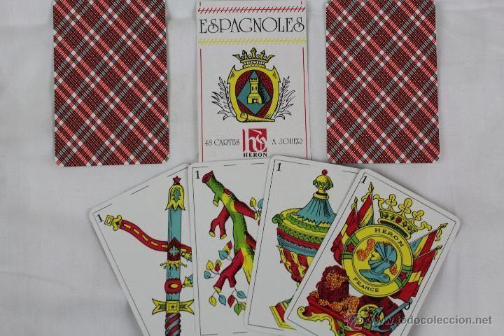 Barajas de cartas: BARAJA, NAIPE ESPAÑOL, 40 NAIPES, HERON-FRANCE - Foto 2 - 107937627