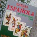 Barajas de cartas: BARAJA ESPAÑOLA NAIPES COMAS 1797-2007 . ANTONIO COMAS 1904 - ESCASA. Lote 107945819