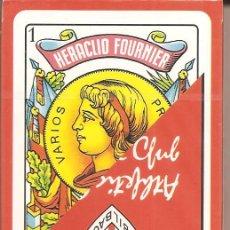 Barajas de cartas: BARAJA, ATHLETIC DE BILBAO-FUTBOL, FOURNIER, NUEVA, PRECINTADA. Lote 108019587