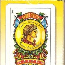 Barajas de cartas: BARAJA, GABRIEL FUENTES, BARAJA ESPAÑOLA, NUEVA , PRECINTADA. Lote 108059143