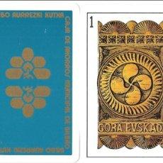 Barajas de cartas - BARAJA, GORA EUSKADI, CAJA AHORROS MUNICIPAL BILBAO, USADA, BUEN ESTADO - 108257239