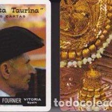 Barajas de cartas: BARAJA, FIESTA TAURINA, TOROS, FOURNIER , NUEVA, PRECINTADA. Lote 108263435