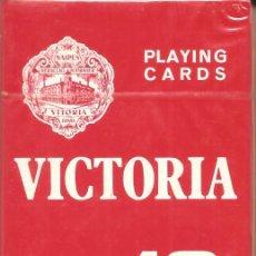 Barajas de cartas: BARAJA, POKER, VICTORIA 18, FOURNIER, NUEVA, PRECINTADA. Lote 108277647