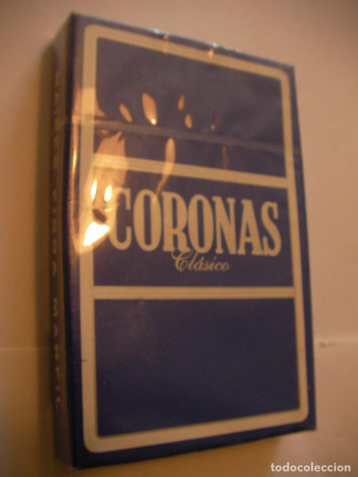 PAQUETE DE CARTAS PUBLICIDAD CORONAS CAJA PRECINTADA (Juguetes y Juegos - Cartas y Naipes - Otras Barajas)
