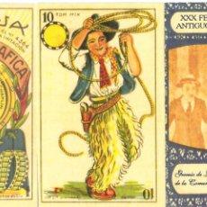 Barajas de cartas: BARAJA, CINEMATOGRÁFICA, XXX FERIA LIBRO ANTIGUO Y OCASIÓN, FACSIMIL, NUEVA, SIN PRECINTAR,RARA. Lote 108375827