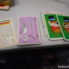 Barajas de cartas: BARAJA INFANTIL BUGS BUNNY 30 CARTAS MAS REGLAS JUEGO. Lote 108378823