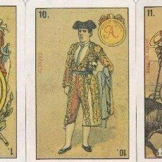 Barajas de cartas: BARAJA, TAURINA, ESPAÑA SIGLO XIX, FACSÍMIL, NUEVA, PRECINTADA. Lote 108388947