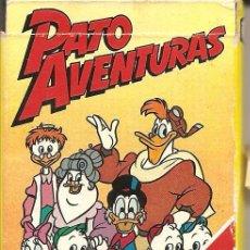Barajas de cartas: BARAJA INFANTIL, PATO AVENTURAS, FOURNIER, 1986, . Lote 108538919
