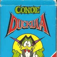 Barajas de cartas: BARAJA INFANTIL, CONDE DUCKULA, FOURNIER, 1991. Lote 108542251