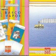 Barajas de cartas: BARAJA INFANTIL, EL BARCO DE VAPOR, ED. SM. Lote 108548647