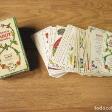 Barajas de cartas: BARAJA DE CARTAS DEL TAROT BILINGUE FOURNIER - TAROT ESPAÑOL - 78 CARTAS. Lote 108698451