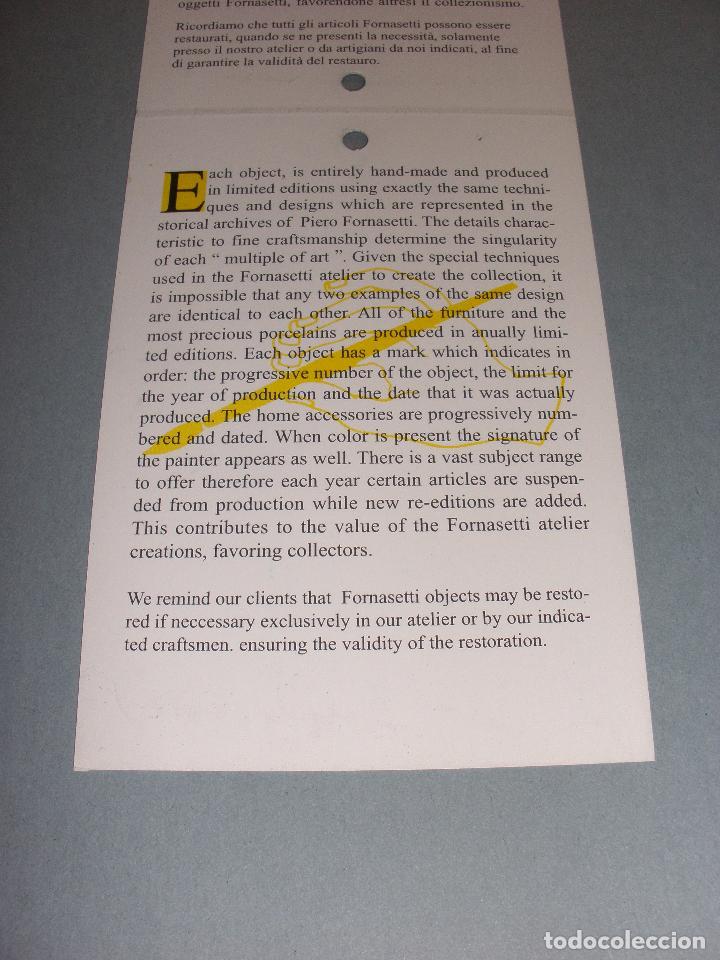 Barajas de cartas: PIERO FORNASETTI MILANO, ESTUCHE EBANO JUEGO BARAJAS Y POKER EDICION LIMITADA Y NUMERADA, NUEVA - Foto 8 - 53442400