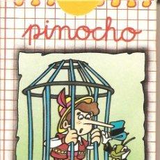 Barajas de cartas: BARAJA INFANTIL, PINOCHO, NAIPES COMAS-NEGSA, NUEVA. Lote 108799927