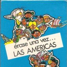 Barajas de cartas: BARAJA INFANTIL, ÉRASE UNA VEZ... LAS AMÉRICAS, FOURNIER, NUEVA, PRECINTADA. Lote 108800455