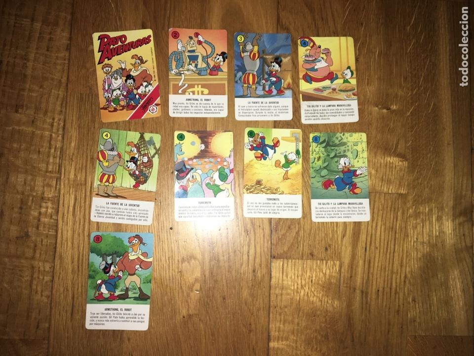 BARAJA PATO AVENTURAS INCOMPLETA FOURNIER (Juguetes y Juegos - Cartas y Naipes - Barajas Infantiles)