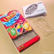 Barajas de cartas: CAJA VACÍA CARTAS UNO H2O TO GO ¡BUEN ESTADO!. Lote 108872015