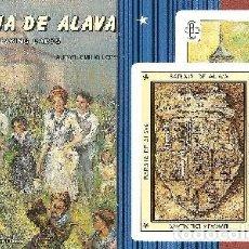 Barajas de cartas: BARAJA, BARAJA DE ÁLAVA, DIBUJOS DE EMILIO LOPE, FOURNIER, NUEVA, PRECINTADA. Lote 108879171