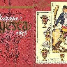 Barajas de cartas: BARAJA, BARAJA GOYESCA, FOURNIER, NUEVA, PRECINTADA. Lote 108879471