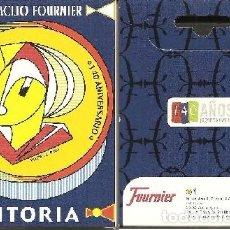 Barajas de cartas: BARAJA, 140 CENTENARIO HERACLIO FOURNIER-VITORIA, NUEVA, PRECINTADA. Lote 108883667