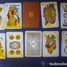 Barajas de cartas: BARAJA DE CARTAS CATALANAS HERACLIO FOURNIER 1935 MOLNÉ FECIT Nº 66 VISCA CATALUNYA. Lote 109080231