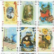 Barajas de cartas: BARAJA POKER-TAROT DE DALI -AÑO 1984. Lote 148784302
