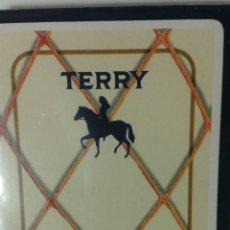 Barajas de cartas: BARAJA PUBLICIDAD TERRY HERACLIO FOURNIER.SIN DESPRECINTAR. Lote 109309450