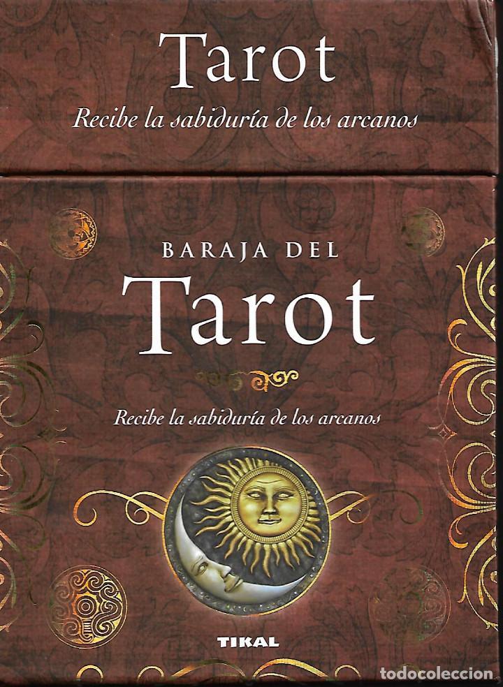 Barajas de cartas: PRECIOSA BARAJA EXCLUSIVA DE TAROT BARAJA LIBRO Y CAJA - Foto 2 - 109413611