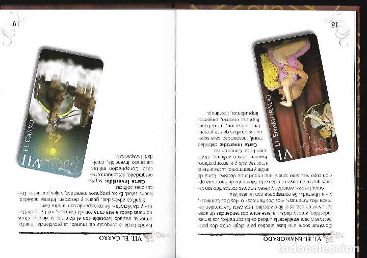 Barajas de cartas: PRECIOSA BARAJA EXCLUSIVA DE TAROT BARAJA LIBRO Y CAJA - Foto 3 - 109413611