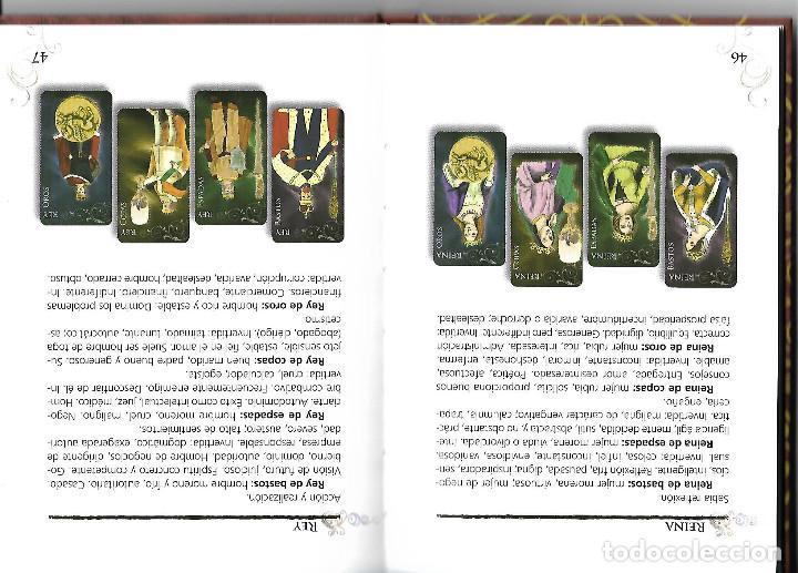 Barajas de cartas: PRECIOSA BARAJA EXCLUSIVA DE TAROT BARAJA LIBRO Y CAJA - Foto 4 - 109413611