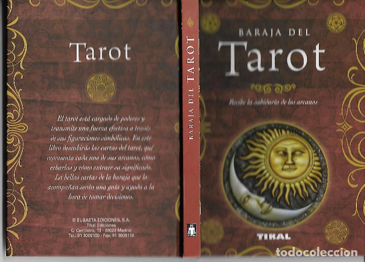 Barajas de cartas: PRECIOSA BARAJA EXCLUSIVA DE TAROT BARAJA LIBRO Y CAJA - Foto 5 - 109413611