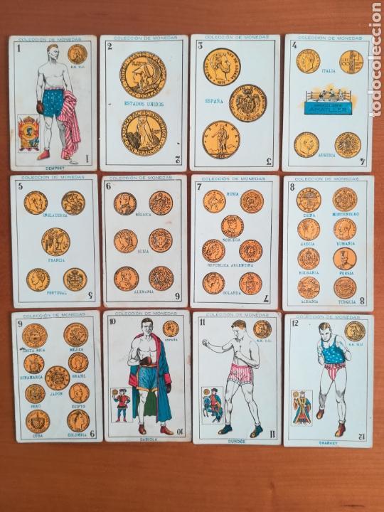 BARAJA ESPAÑOLA CHOCOLATES AMATLLER COLECCIÓN DE MONEDAS BOXEO - PALO DE OROS (Juguetes y Juegos - Cartas y Naipes - Baraja Española)