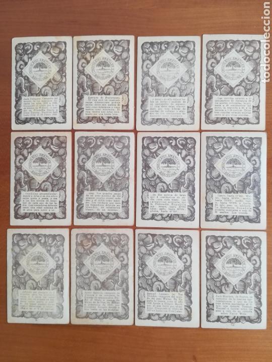 Barajas de cartas: Baraja española Chocolates Amatller Colección de monedas boxeo - palo de oros - Foto 9 - 109476699